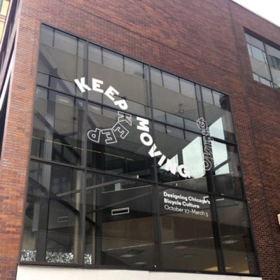 Window Graphics for Design Museum of Chicago