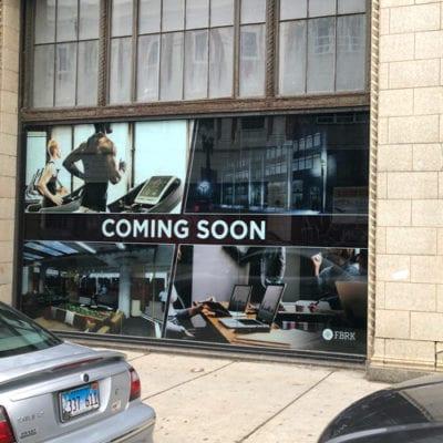 Coming Soon Window and Door Graphics