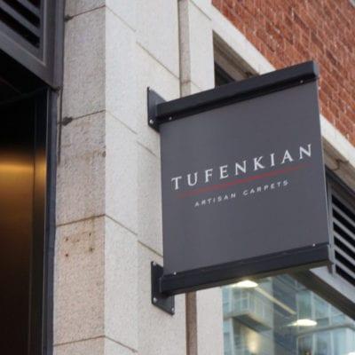 Retail Exterior Sign for Tufenkain