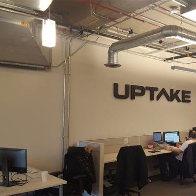 Uptake Dimensional Logo