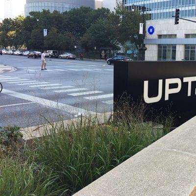 Uptake Exterior Lit Signage