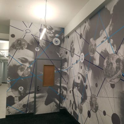 Wall and Door Decals Installation (Dreamscapes Wallcovering)