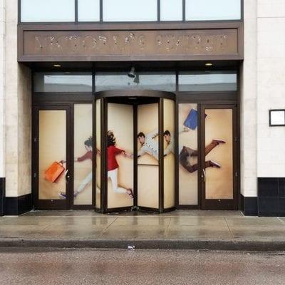 CBRE Real Estate Window Graphics