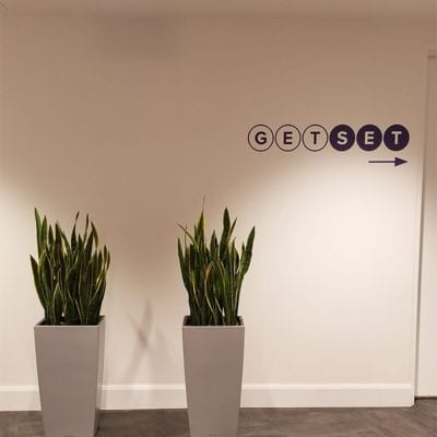 Get Set Wall Graphics Directional Signage