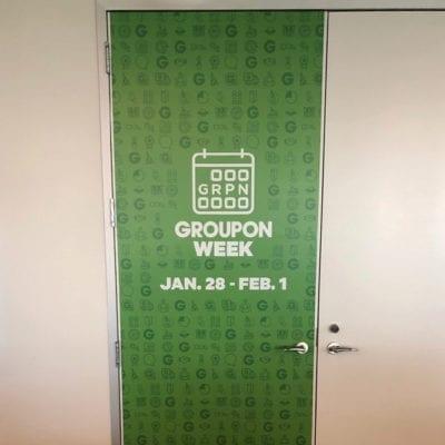 Groupon Door Graphic