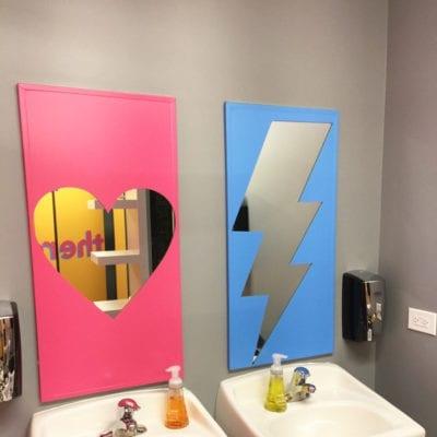 Washroom Decals Prove You Can Brand Anywhere