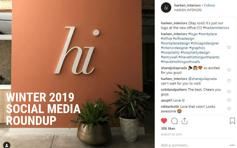 Winter 2019 Social Media Roundup