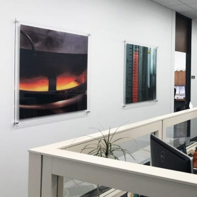 Add Dimension to Your Office with Acrylic Panels
