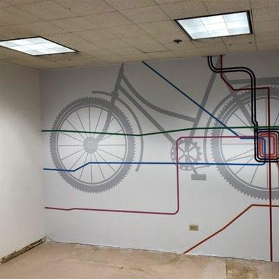 CTA Wall Graphic