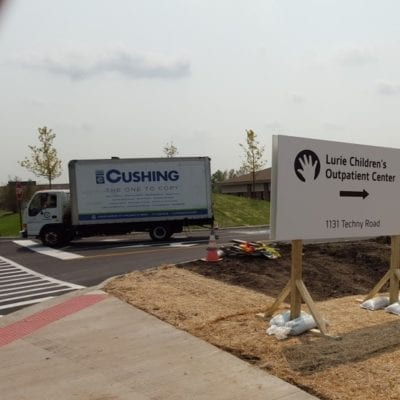 Construction and Directional Signage