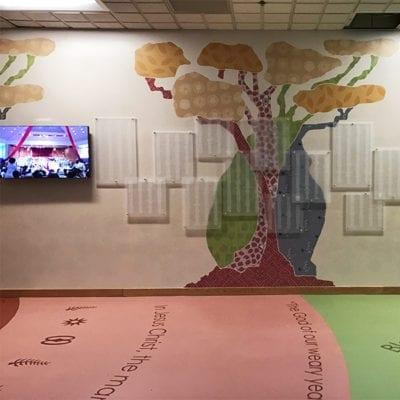 Donor Wall Floor Graphics Susan Komen