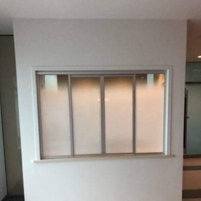 Opaque Privacy Film For Office Windows