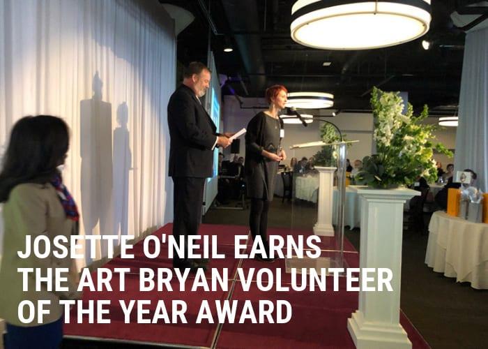 Cushing Account Manager Wins Art Bryan Award
