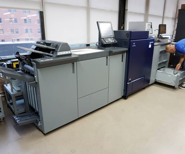 Konica on the Shop Floor at Cushing