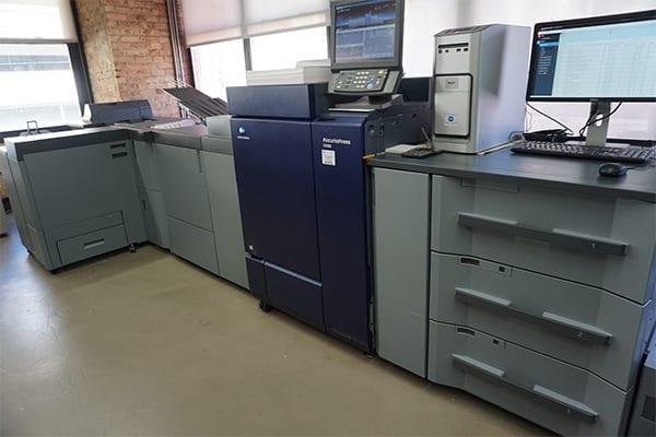 Konica Small Format Digital Printer