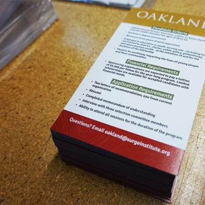 Oakland Brochure