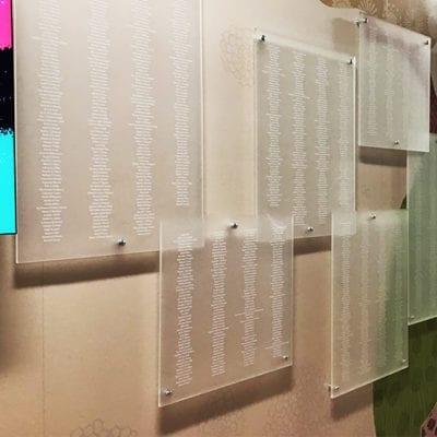 Susan KomenTrinity Donor Wall Plaques
