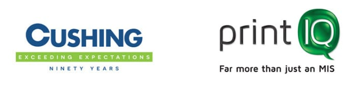 Cushing partners with printlq to implement a seamless, end-to-end workflow 1 updated header
