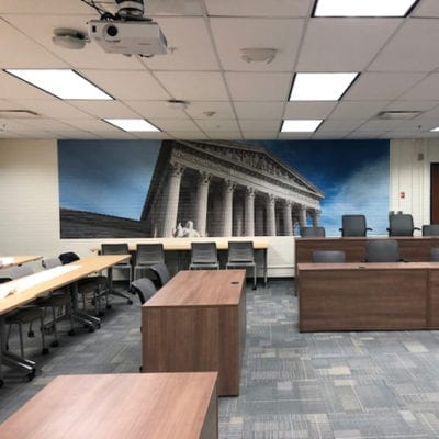 Wall Graphics Installed at Hershey