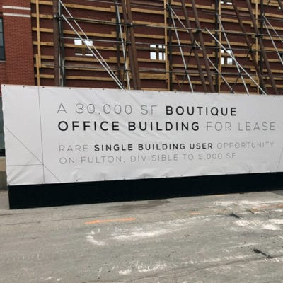 Promotional Banners for Domus Group on Barricade