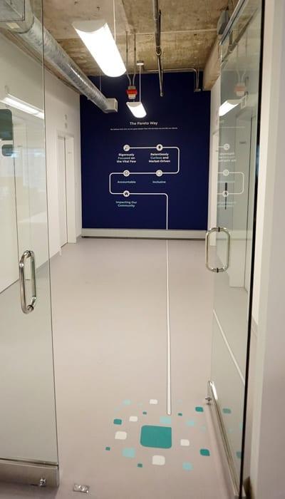 Elevator Bank Graphics At Pareto Intelligence