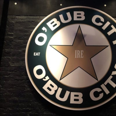 Wall Decal Installed at Bub City