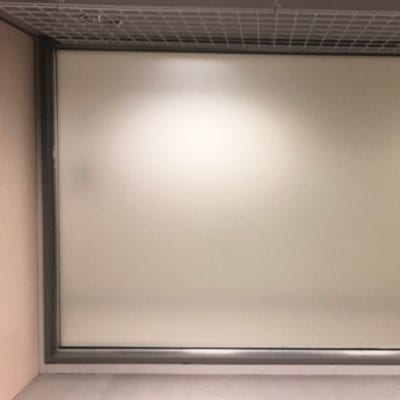 3M Dusted Crystal for Private Hospital Space