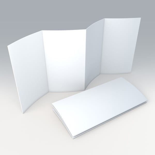 Parallel Fold Brochure Option