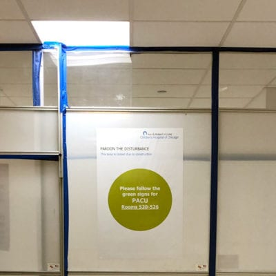 Indoor Directional Signs Can Be Temporary
