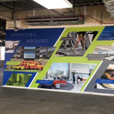 Wall Graphics Printed to 3M-IJ40 Vinyl