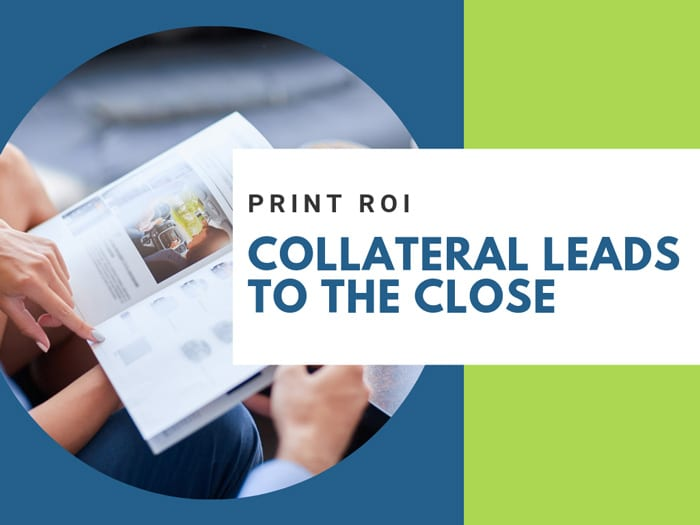 Collateral Leads to the Close