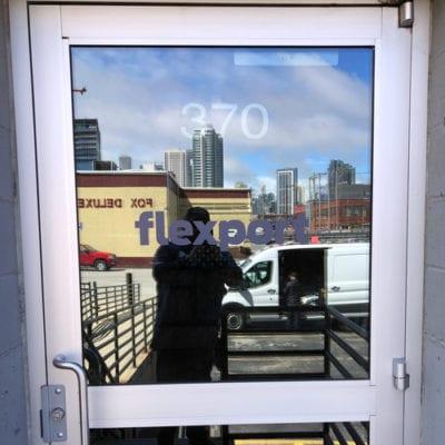 Window Decals at Flexport