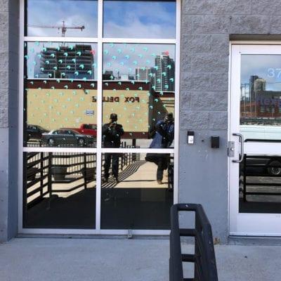 Door and Window Decals for Flexport