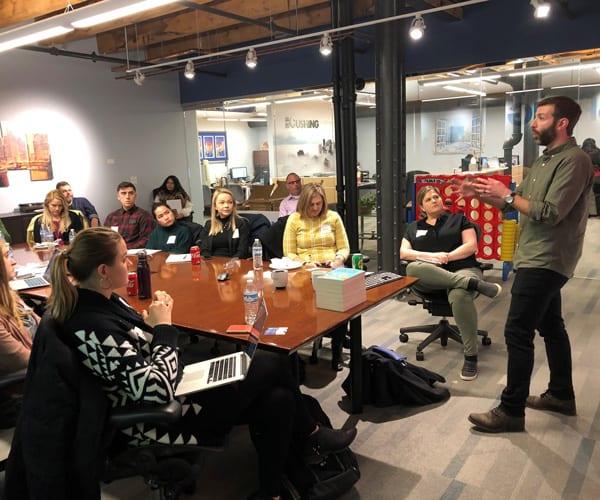 Matt Chiera Speaks at Cushing