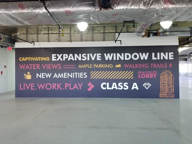 Marketing Centers Help Close Deals 1 Amenities Wall in Market Center 1