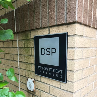 Dayton Street Partners Building Exterior Signage