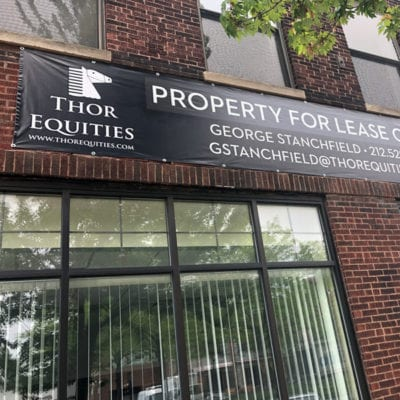 Real Estate Leasing Banner for Thor Equities