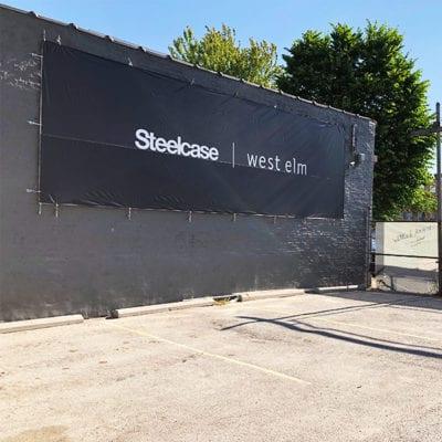 Exterior Steelcase West Elm Banner