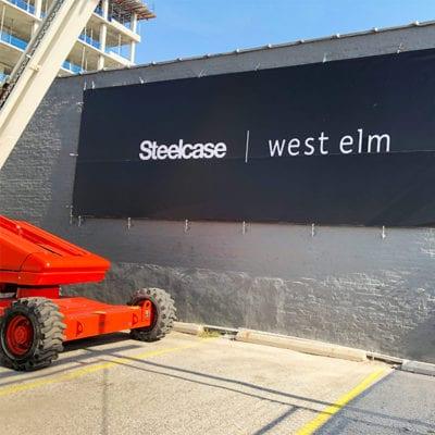 Steelcase Exterior Banner