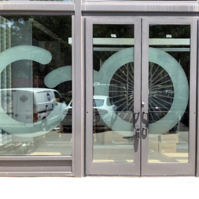 Window and Door Graphics View from Street