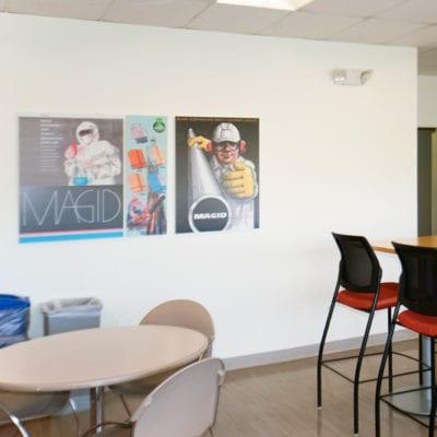 Break Room Board at Magid Glove & Safety