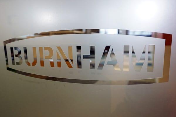 Burnham Office Frosting