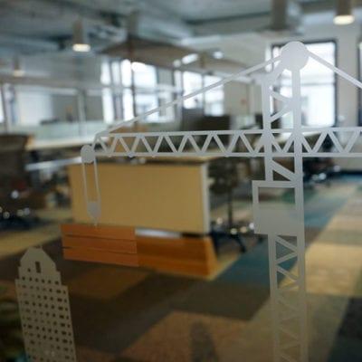 Cranes Signal Burnham is in the Building Industry
