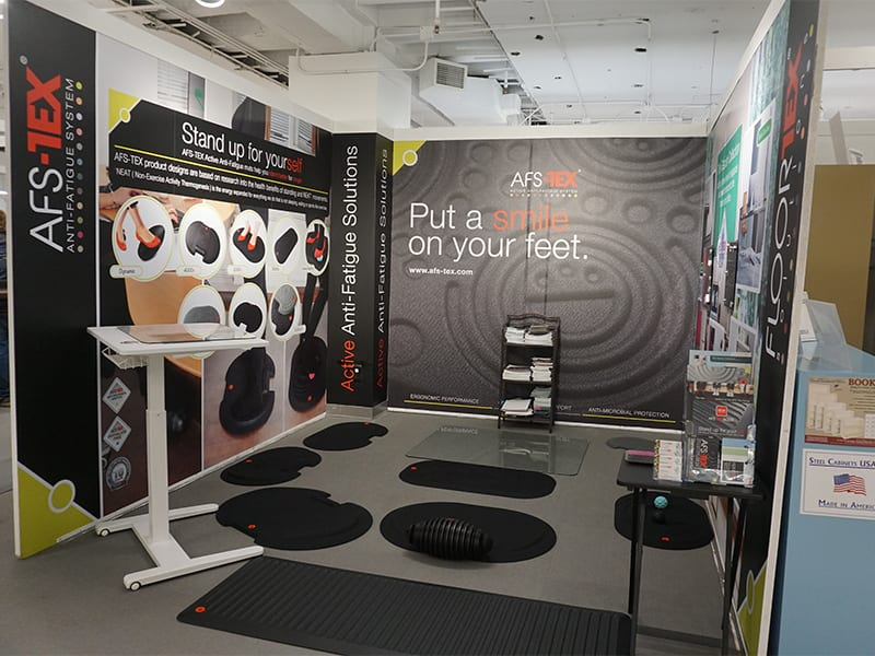 Wrapping up summer with cushing's latest installs 5 floortex booth save for web install roundup