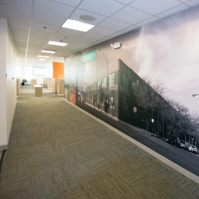Another View of Kolmar Wall Mural