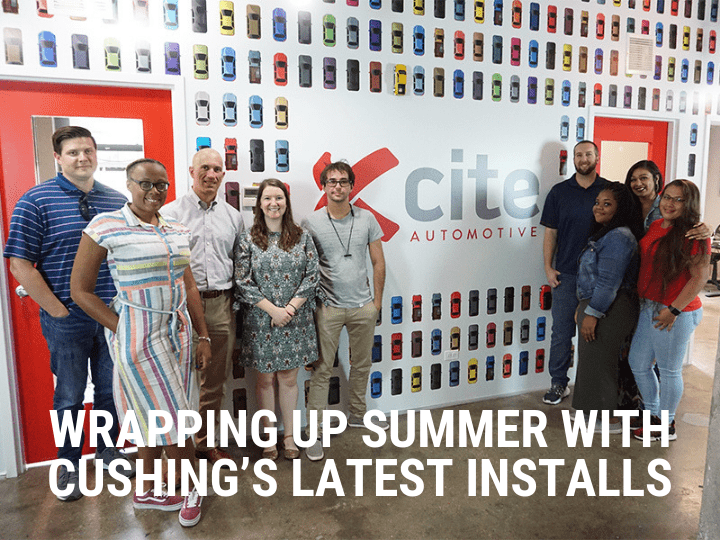 Wrapping Up Summer With Cushing's Latest Installs