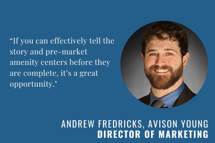 Andrew Fredricks of Avison Young