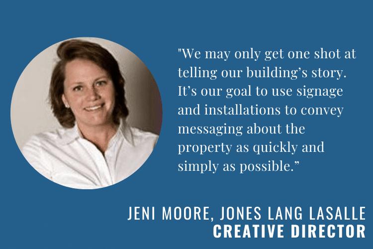 Jeni Moor of Jones Lang LaSalle