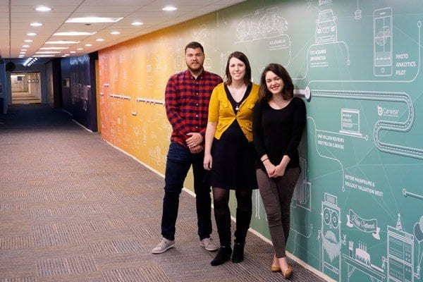 Office Wall Graphics Design Team at CCCIS