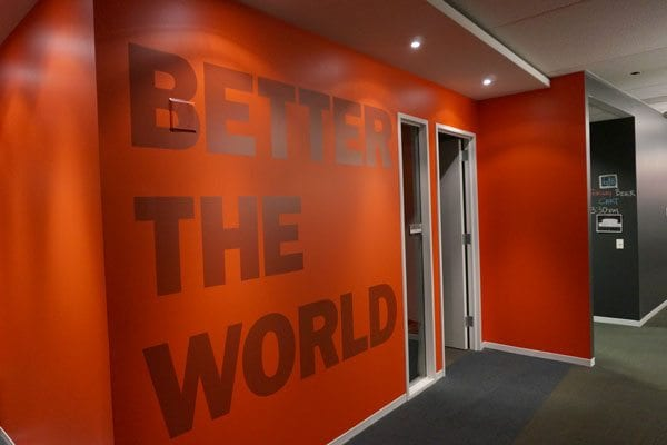 Installed Wall Graphics Healthcare Marketing Agency